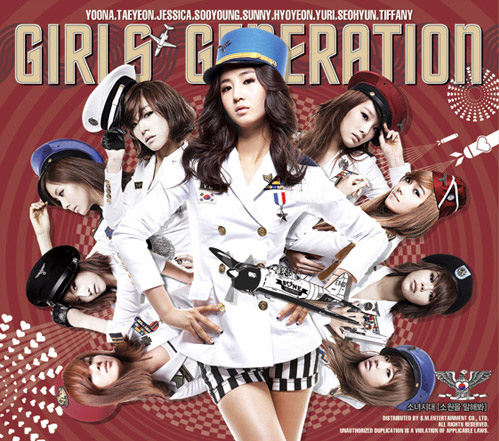 New Album de las Girls Generation (SNSD)